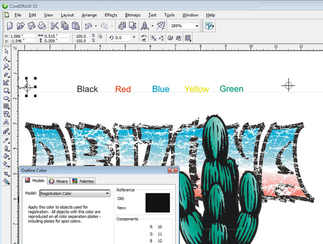 Color Separation Tips In Corel Draw