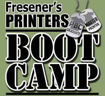 T-Shirt Printing Classes with Scott &amp; Mike Fresener