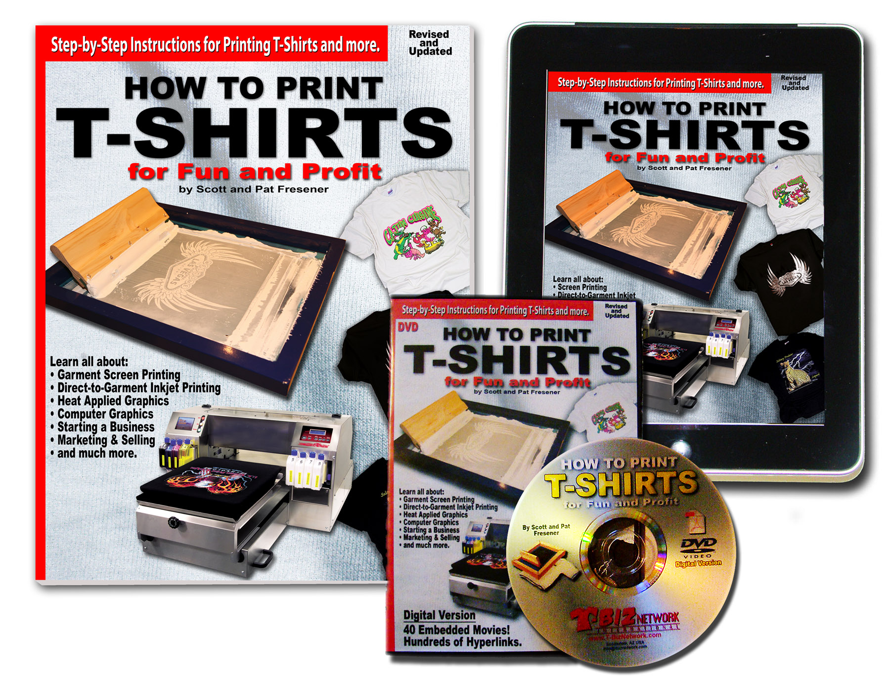 how to print t-shirts for fun and profit |