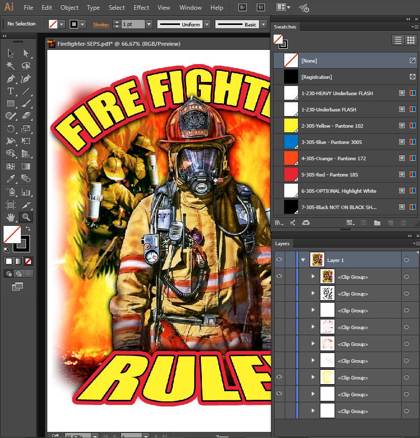 printing profile adobe illustrator to pdf