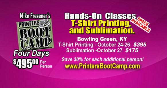 Printers Boot Camp