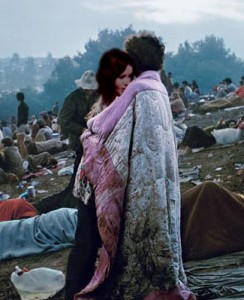 Scott & Pat in famous Woodstock photo.