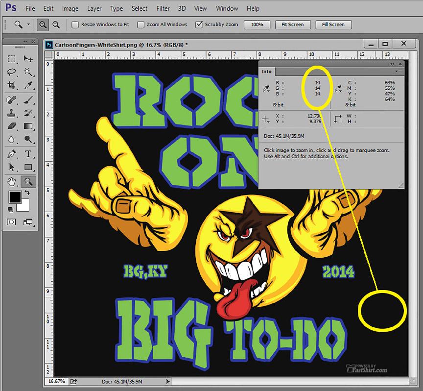 Preparing Artwork for DTG Printing by Scott Fresener  