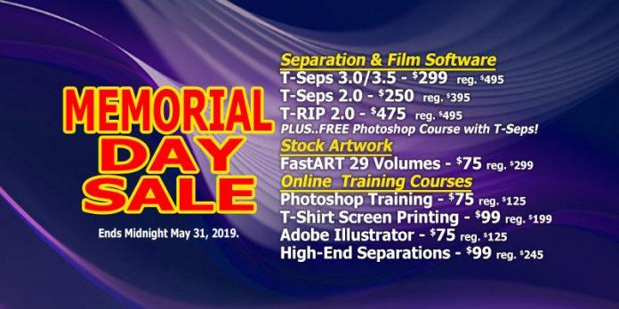 T-Biz Memorial Day Sale