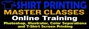 T-Shirt Printing Master Classes